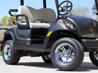new yamaha golf cart